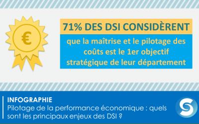 [Infographie] le DSI et le pilotage de la performance économique